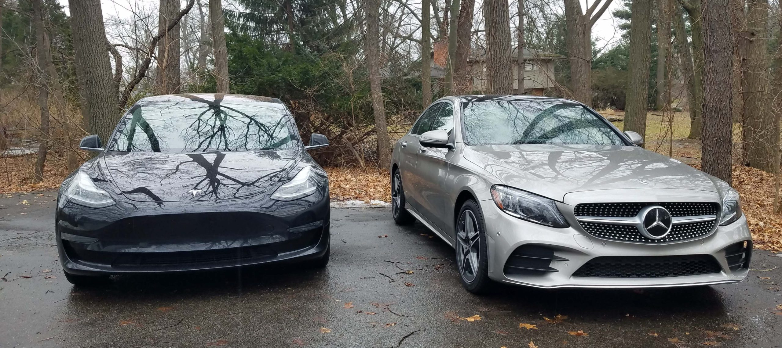 tesla and mercedes competing for electric cars