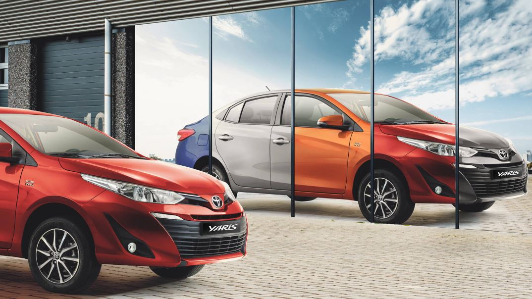 toyota and sales of the new sedan