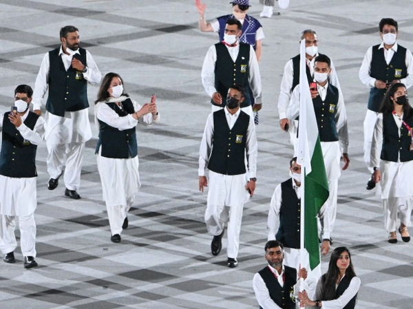 pakistani athletes olympics 2020