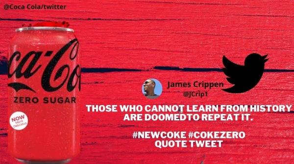 coca cola coke zero recipe changing