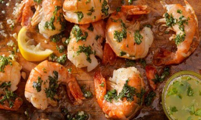 garlic prawns delicious at home
