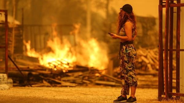 fires turkey burns
