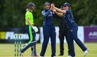 hijabi cricketer