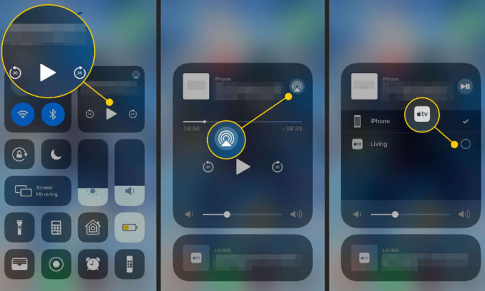 AirPlay from iPhone to Mac easily using steps
