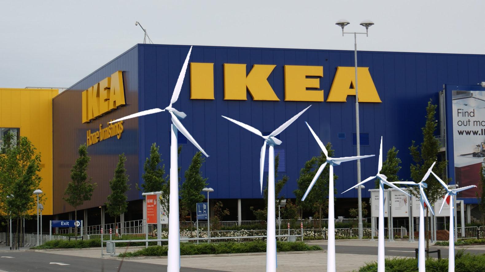 IKEA and selling renewable energy to people