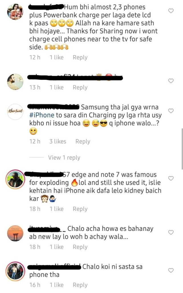 Mansha Pasha Shares A Horrifying Incident Of Her Phone Blowing Up