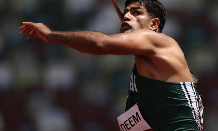 Nadeem Arshad on the finals in olympics javelin