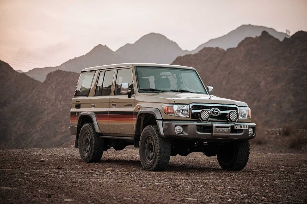 land cruiser and new edition