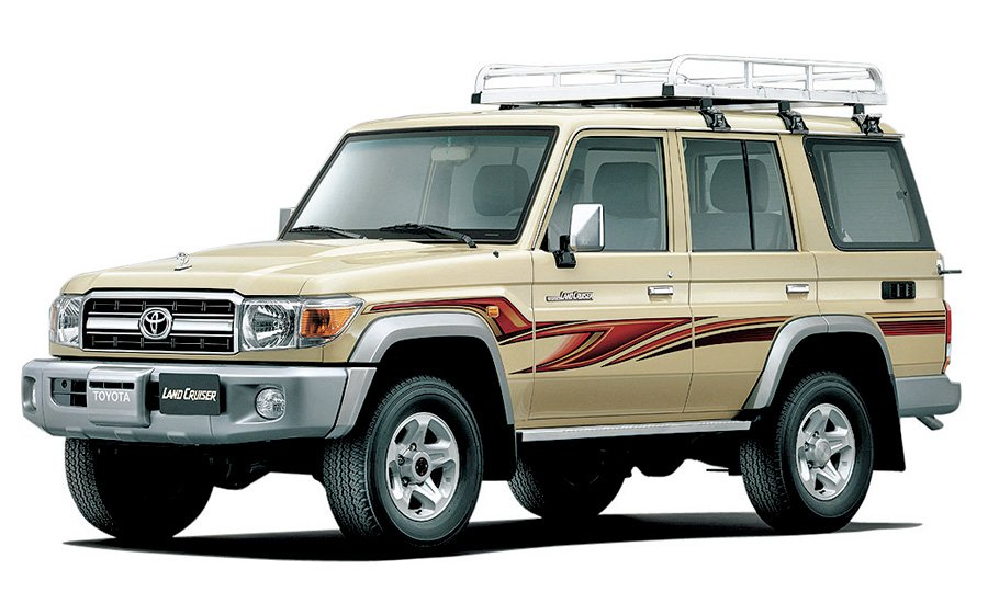 land cruiser from 70s and 80s