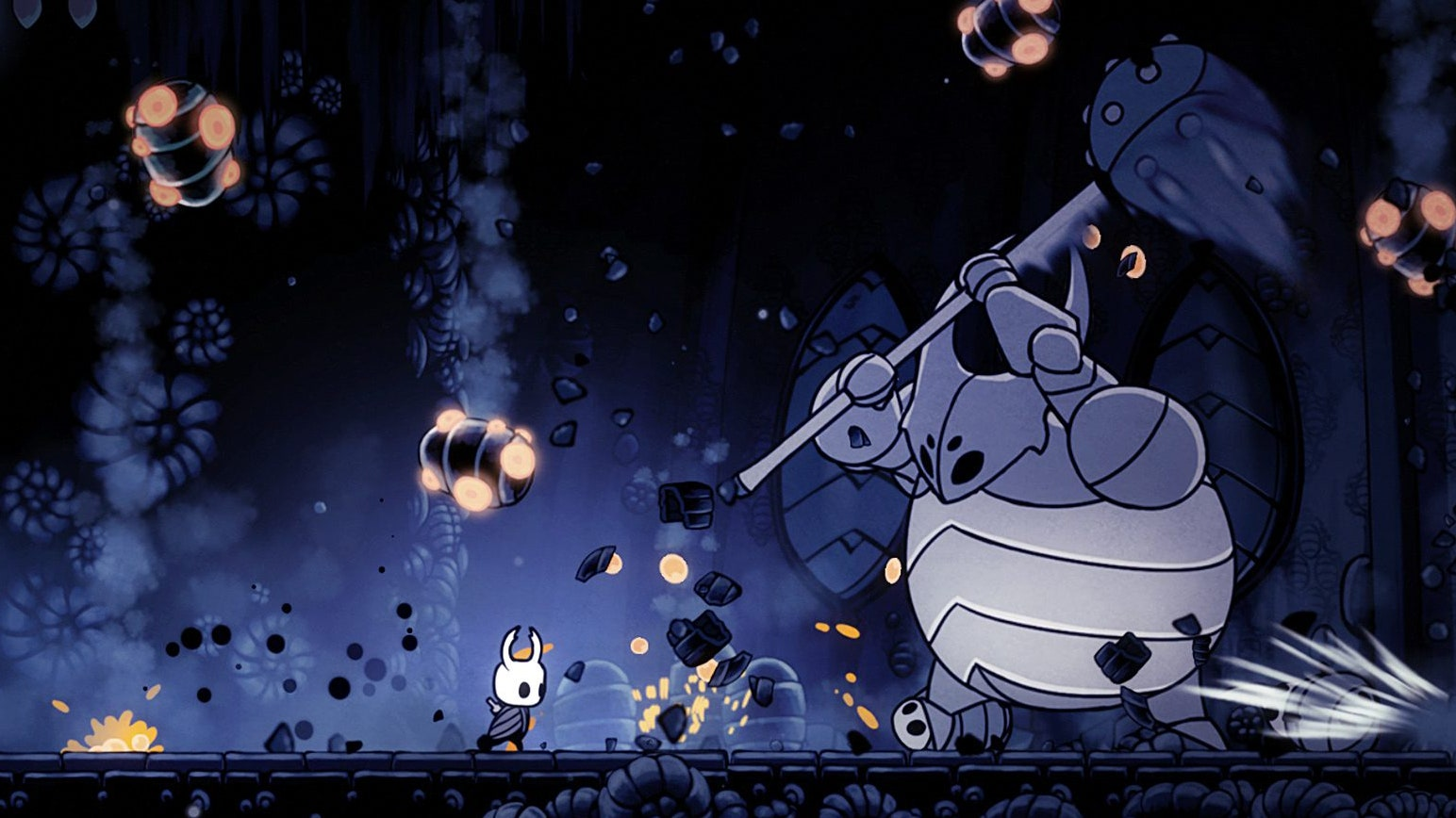 Hollow Knight as a good handheld game