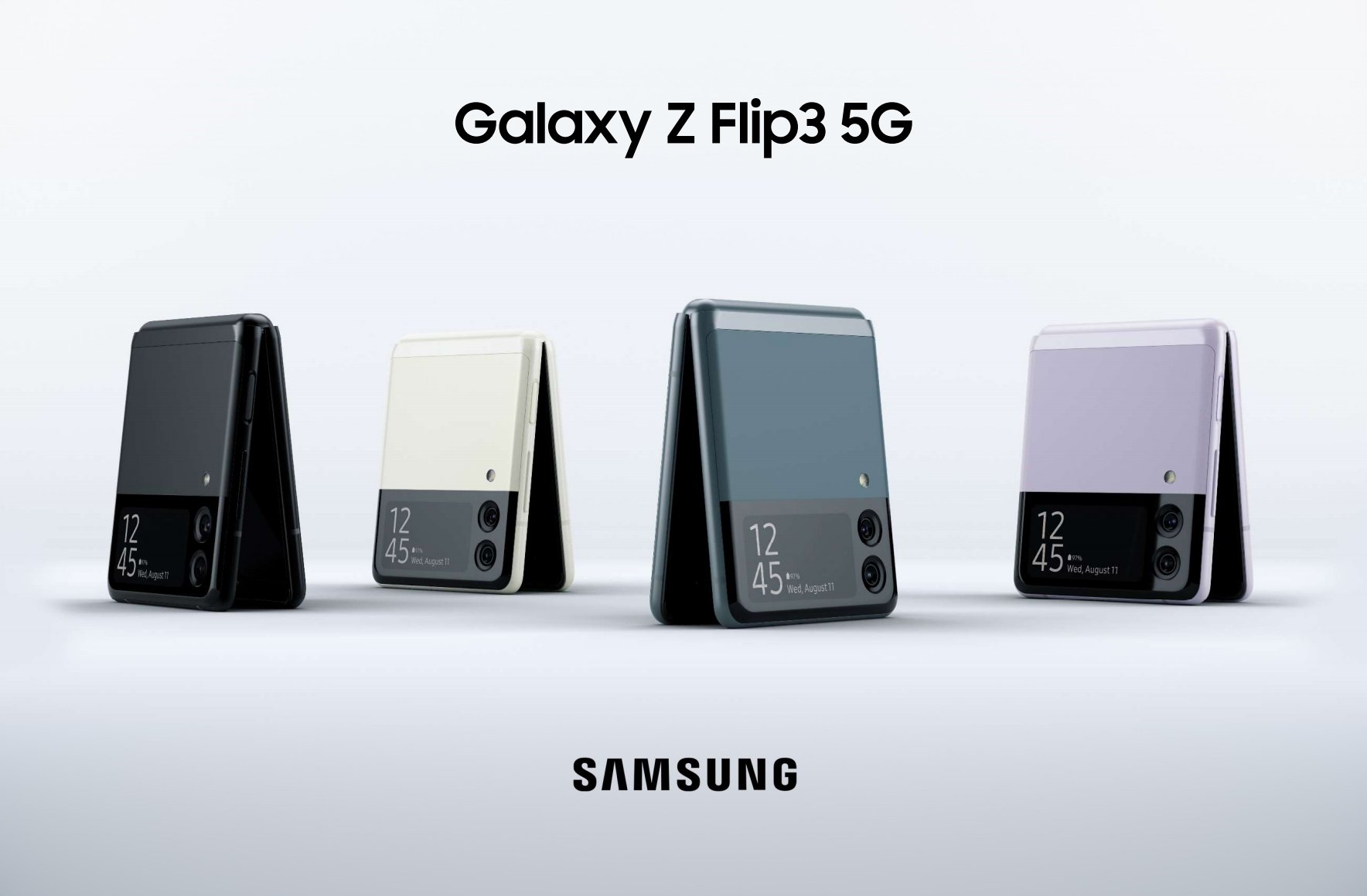 samsung and the new Z Flip 3 announced