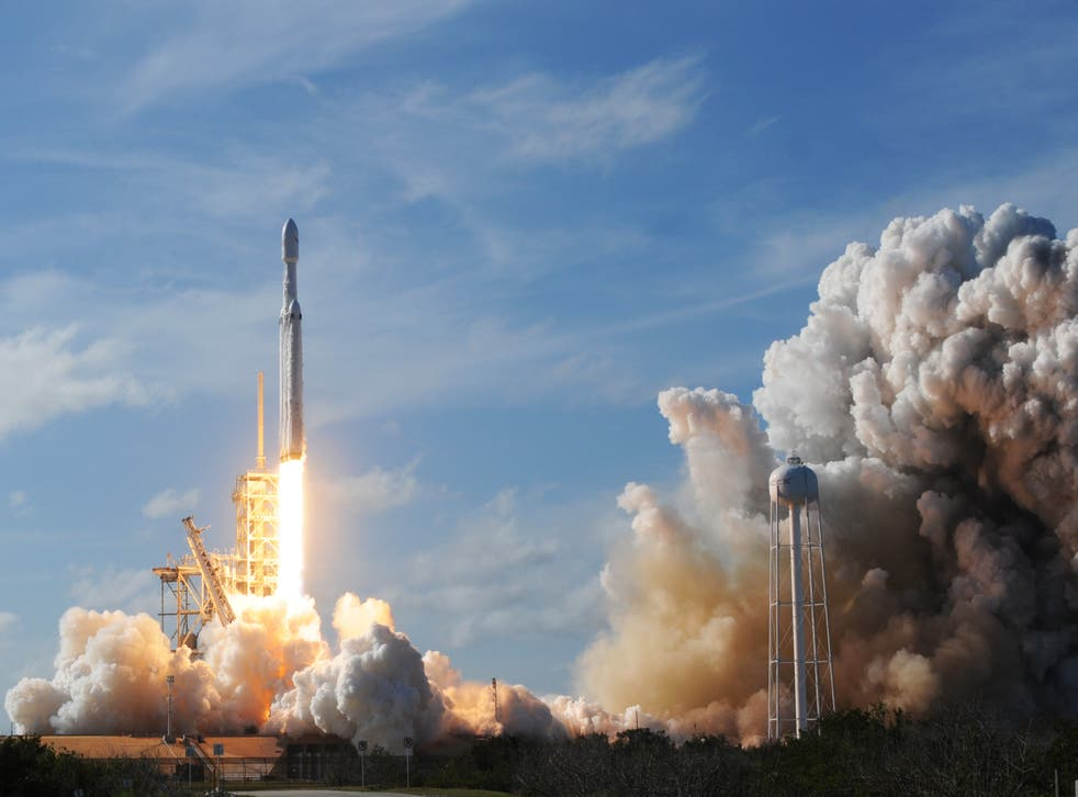 SpaceX and launching a billboard