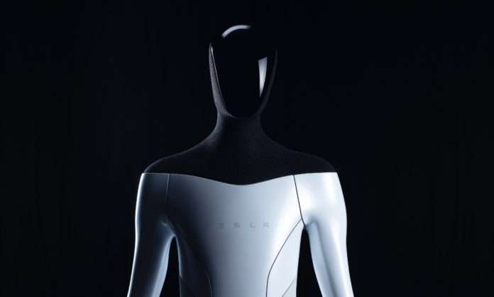tesla bot has been revealed by Elon Musk