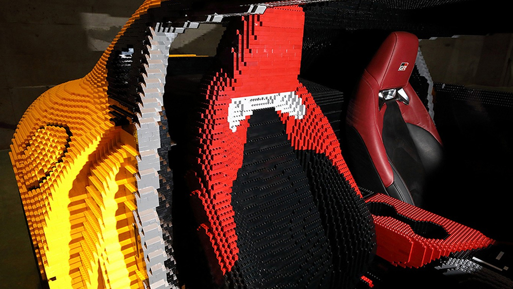 supra and running a lego based car