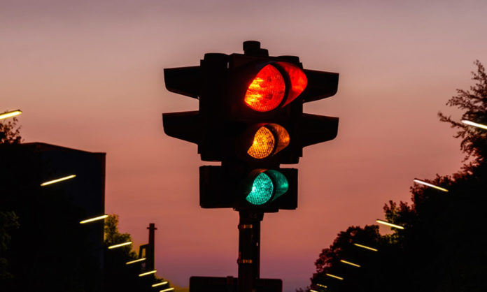 traffic signals and how to not break them