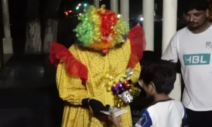 saima medical student clown