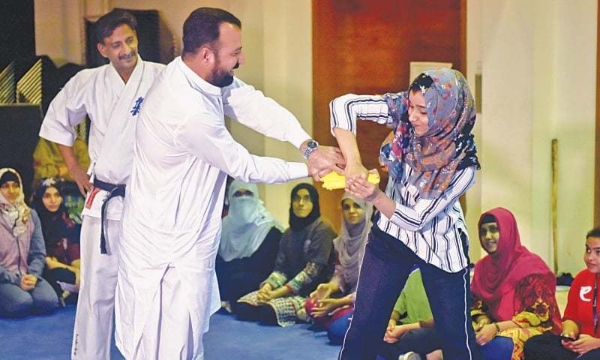 self-defence training common pakistan women
