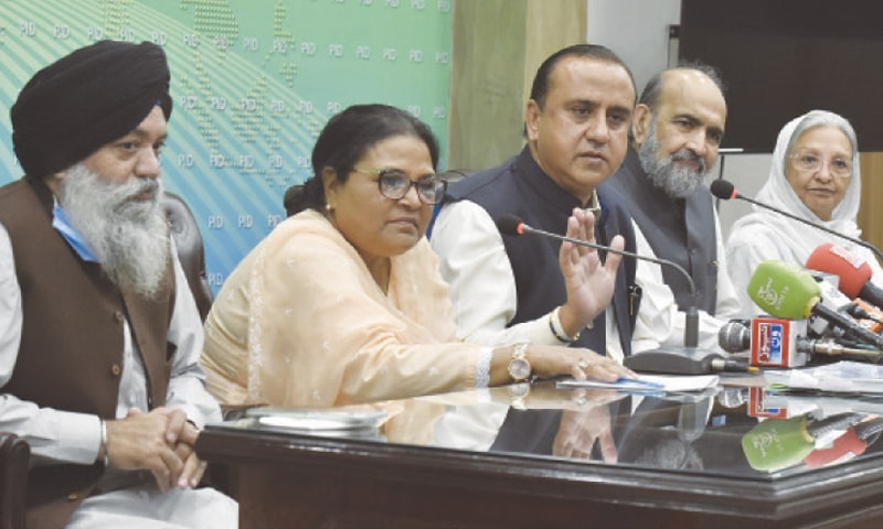Minorotes commission PM Imran