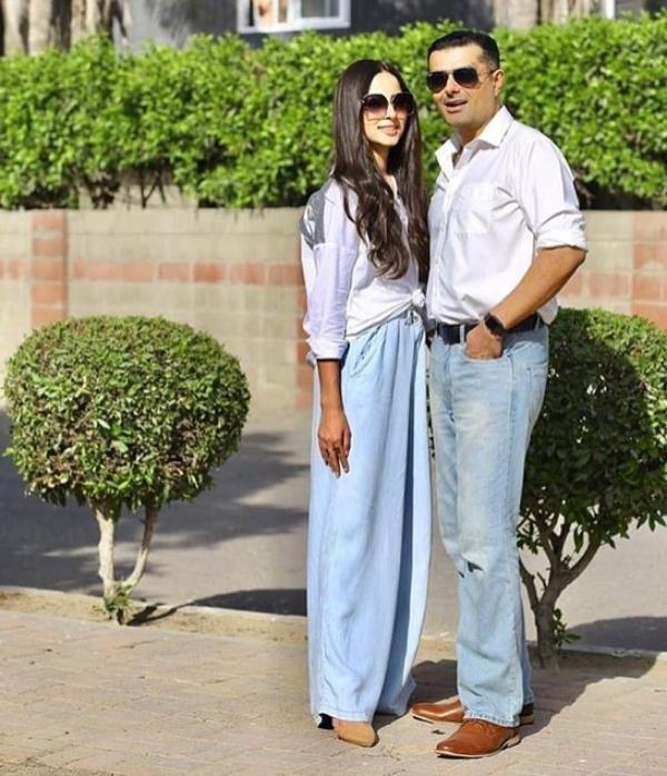 nausheen shah nimra khan's ex-husband