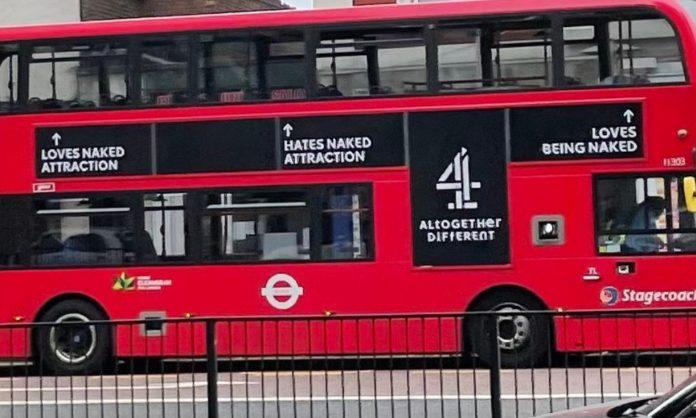 creepy bus ad wrong why