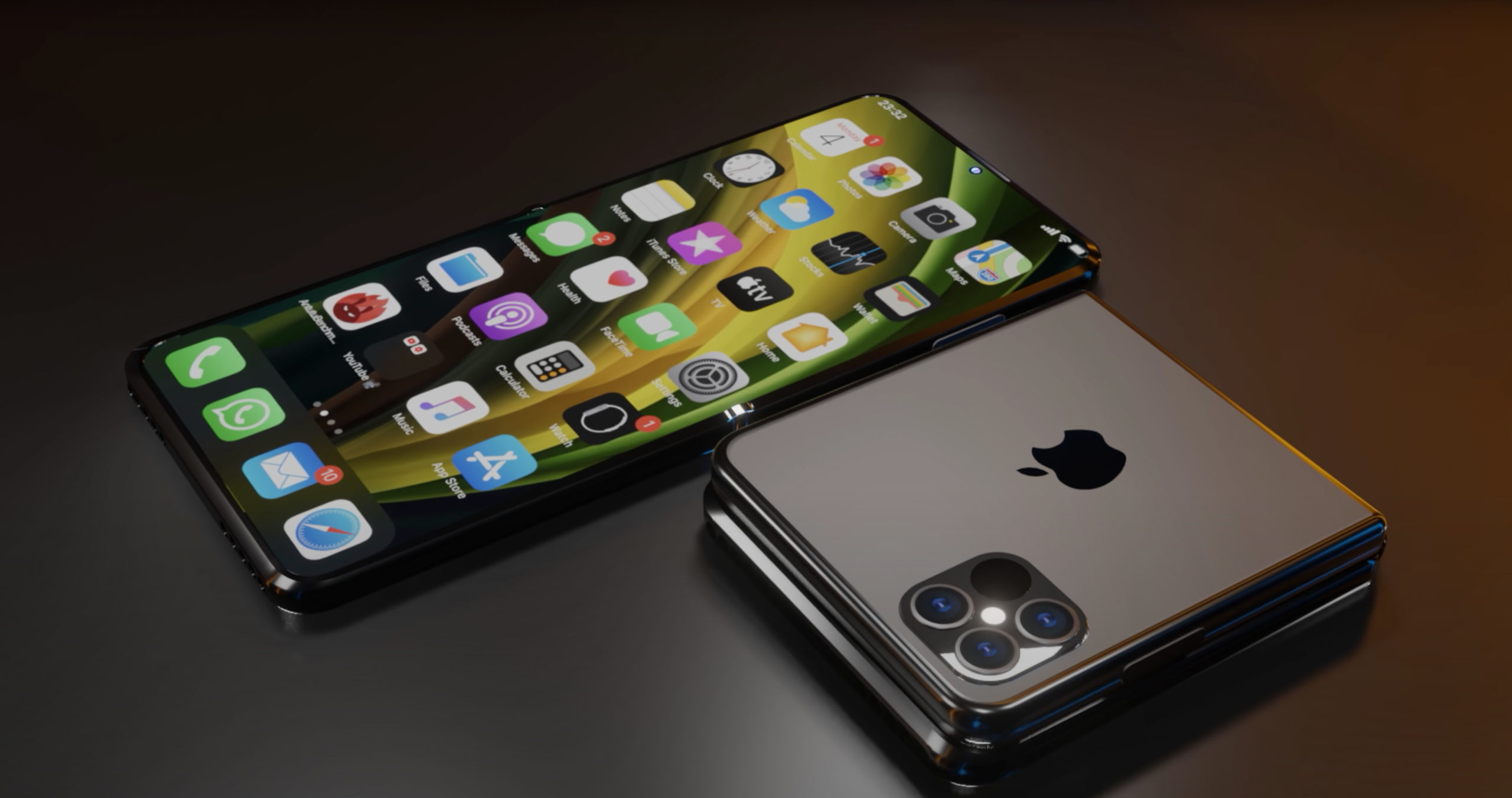 apple foldable phone and coming out leaks
