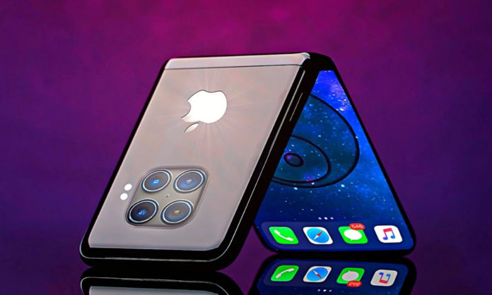 leak talks about Apple foldable phone