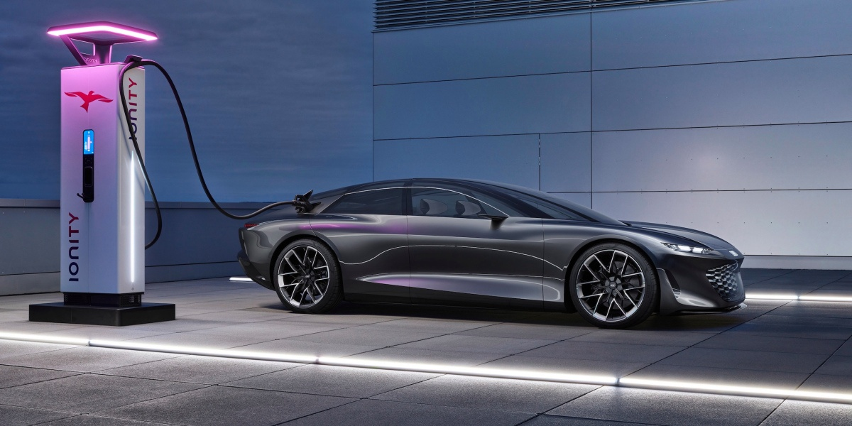 audi concept of electric sedan