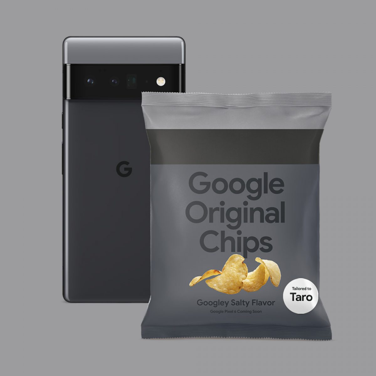 eating potato chips by google
