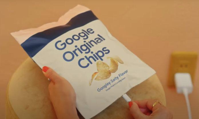 google pixel 6 potato chips in Japan