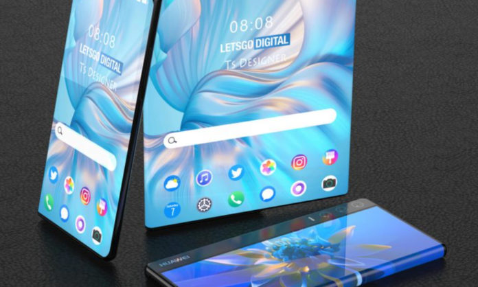 Huawei with rollable display patented