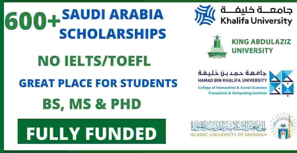 scholarships for pakistani students for saudia