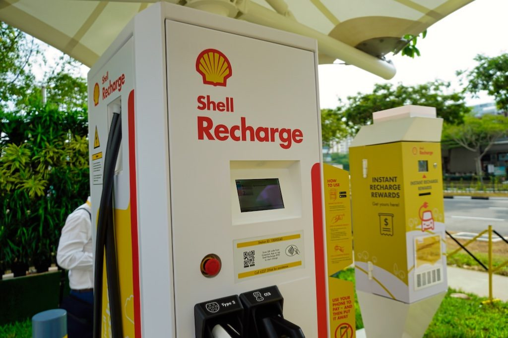 shell charging stations in UK
