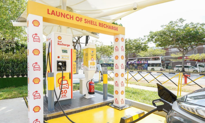 shell charging stations being put up soon