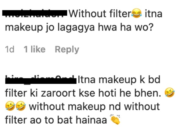 sarwat gilani no filter selfie