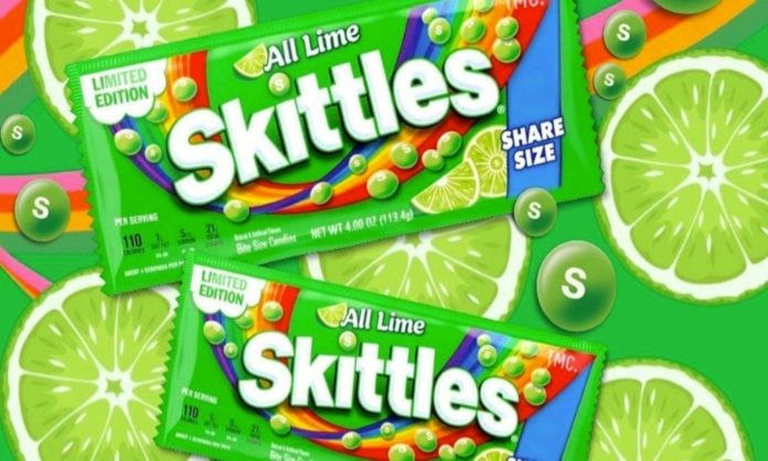 new skittle flavour