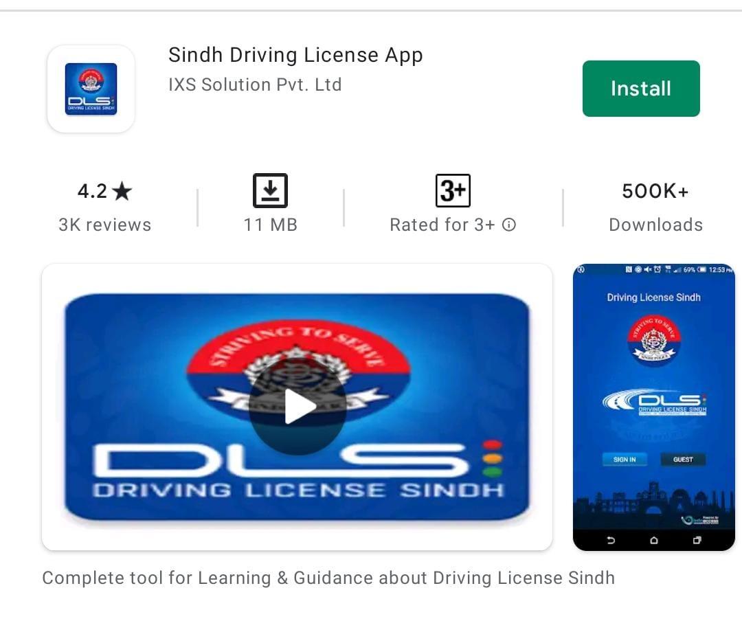 Karachi driving license