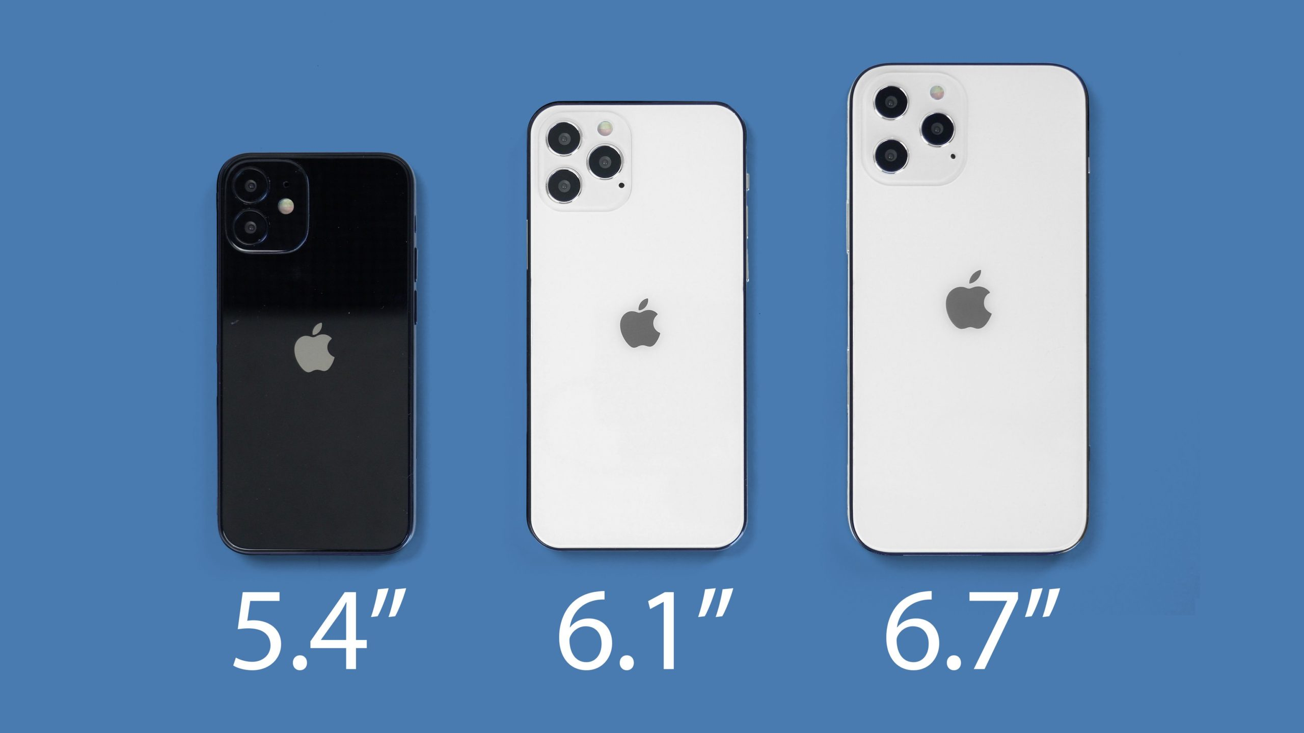 size of variants of upcoming phone