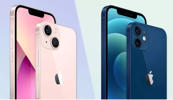 iphone 13 and 12 comparison post