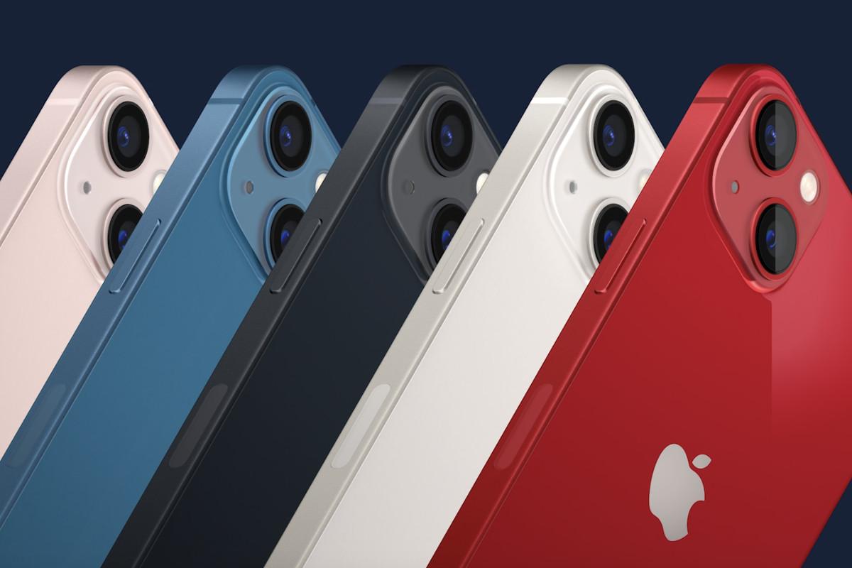 apple comparison post between two iphones