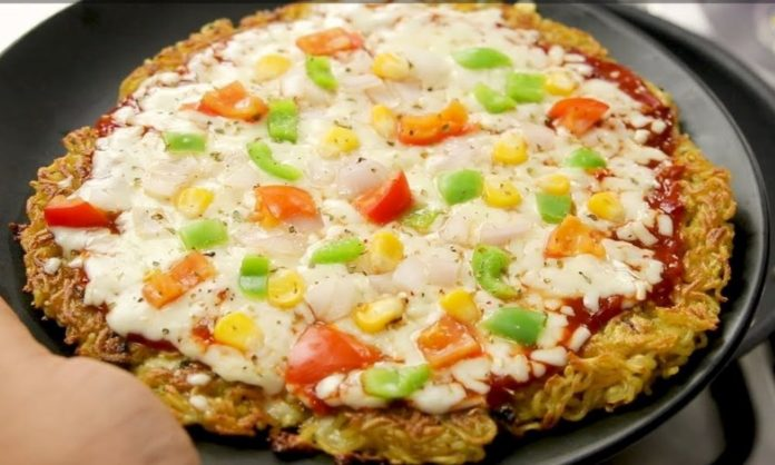 Love Noodles & Pizza? Here's How You Can Make Noodle Pizza At Home