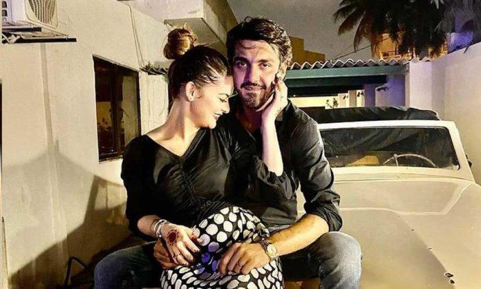 Minal Khan & Ahsan Ikram Off To Maldives For Their Honeymoon