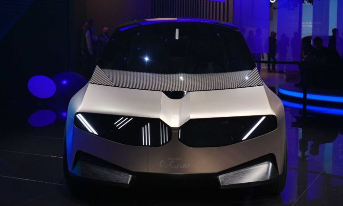 bmw latest car made recycled materials