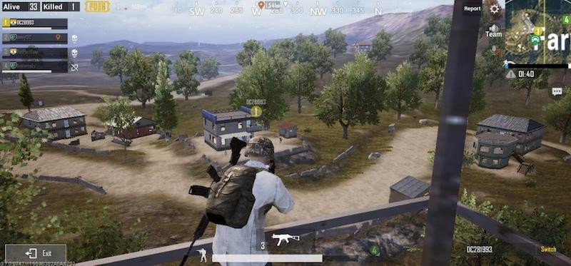 taking cover in game for survival