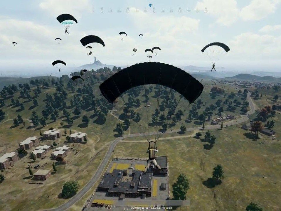 landing on pubg mobile and survival tip