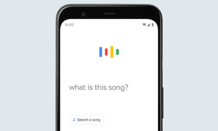 how to identify a song using assistant and app