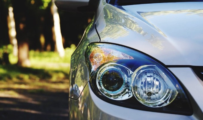 car headlights replaced and value of the car