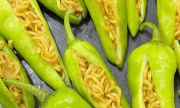 Bizzare or Not? Stuffed Maggi Mirch Leaves Internet Divided