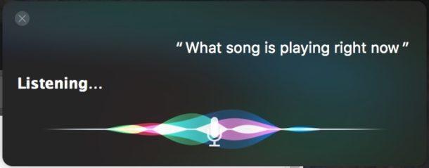 siri detecting various music items