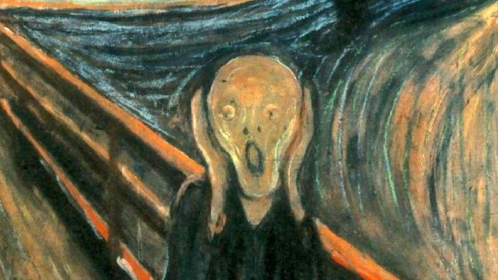 edvard munch and scream painting