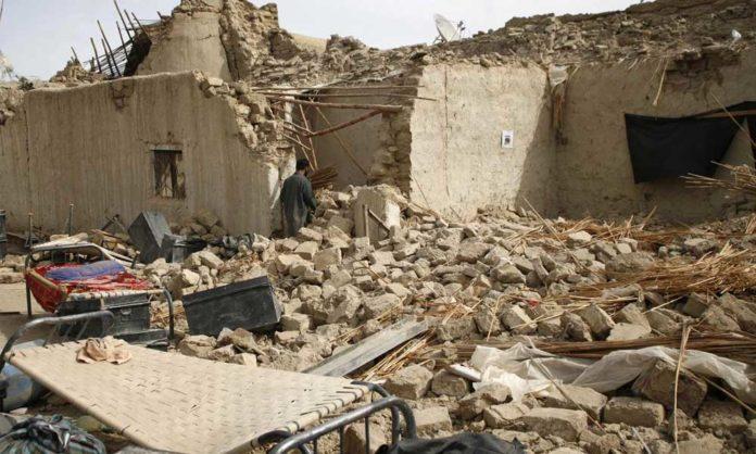 powerful earthquake
